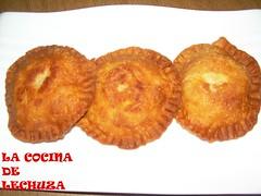 Empanadillas redondas fritas