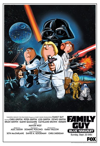 Family Guy, Especial Star Wars, Poster Promocional