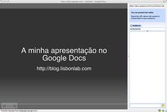 Presentations @ Google Docs