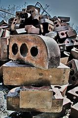 Brick Inukshuk (ViaMoi) Tags: canada photoshop williams ottawa bricks hill parliament stuart m dragan s2 s2williams viamoi