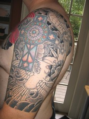 Japanese half-sleeve work in progress