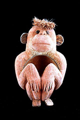 Coconut Husk monkey handicraft, Antique handicraft