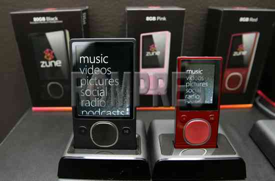 The First real Zune 2.0 photos