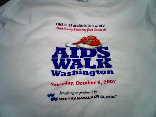 Aids walk front