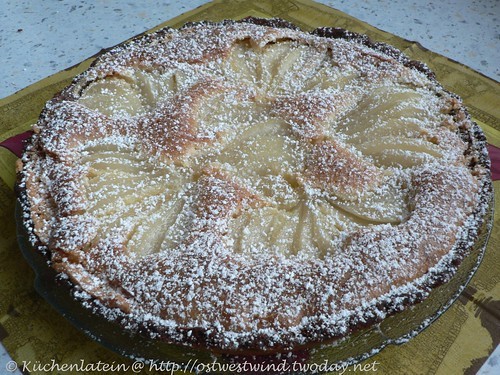 French Pear Tart 001