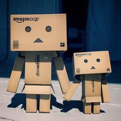 (Saarss) Tags: japan toy amazon olympus danbo 17mmf28 olympuszuiko micro43 minidanbo amazoncomjp panasonicgf1 originaldanbo