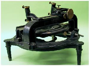 The Repsold machine for measuring astrophotographs was a German invention.