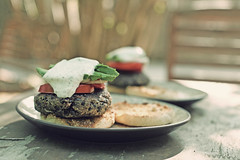 Walnut Lentil Burger