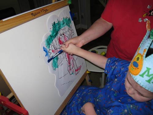 Max painting for Adeline