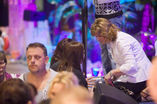 Cheryl Ministering at Altar