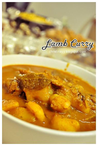 Shaine's Farewell Dinner: Lamb Curry