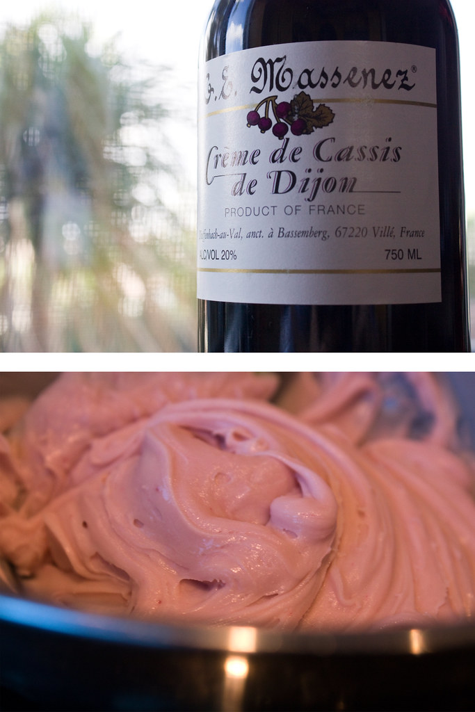 Creme de Casis Buttercream