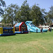 Welcome Back BBQ 2002: Bounce Houses