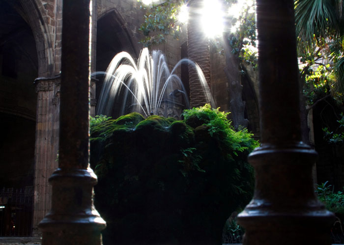 Late afternoon at the cloister