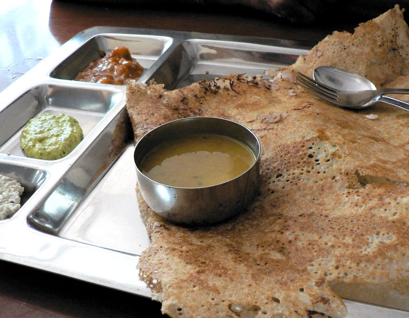 onion rava thosai