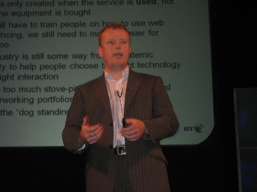 Aaron McCormack, CEO of BT Conferencing