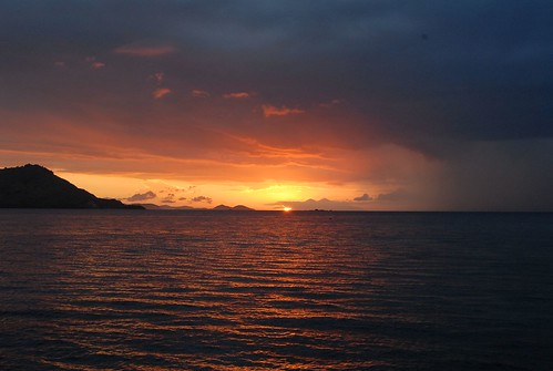 Sunset at Kanawa Island, Flores