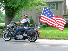 Remembering those who served (fathero9) Tags: usa memorial flag honor parade motorcycle memorialday fathero9 abigfave inpatriotism
