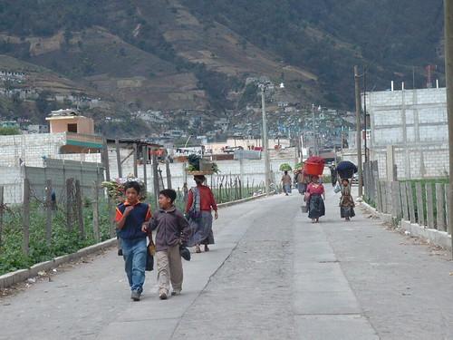 Streets of Quetzaltenango (Xela)