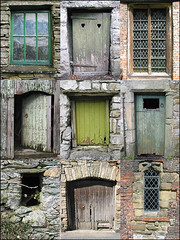 4 Doors + 4 windows V2 (frazerweb) Tags: door old window set photoshop mosaic 100v10f creation montage frazerweb