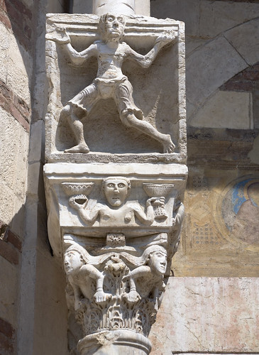 Romanesque Capital detail