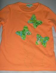 T-shirt Borboletas / Butterflies