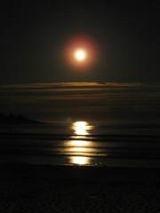 Moonrise over Higgins
