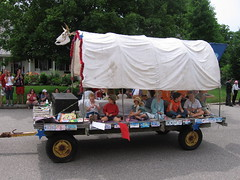 libraryfloat, July 4th, 2007
