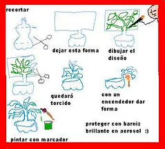 Instrucciones manualidades pet