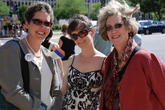 Liz, Chrystie, and Marilyn at ALA