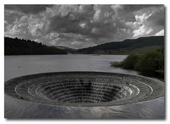 Ladybower Plug Hole (Jonnyfez) Tags: sky water clouds landscape grey hole derbyshire peakdistrict plug hdr ladybowerreservoir ladybower sigma1020 buoyant d80 buoyantspotlight