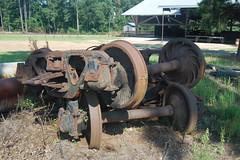Longleaf LA 3 (Paul L. Nettles) Tags: museum train louisiana forestry logging 020 steamlocomotive skidder forestmuseum loggingmuseum antiqueskidder