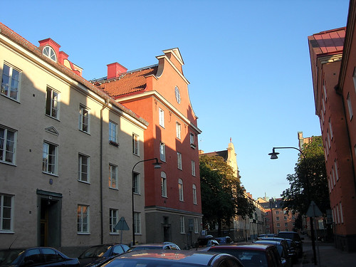 Houses in Falugatan 4.
