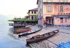 Boats at Orta