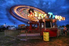 Super Trooper 8.18.2007 (Notley) Tags: longexposure carnival summer people signs sign night lights nightlights statefair august fair feira missouri carnaval rides midway carnevale noctune karneval loyal 2007 sedalia carnivalrides  10thavenue missouristatefair sedaliamissouri pettiscounty notley supertrooper ruralphotography imagekind    notleyhawkins missouriphotography  httpwwwnotleyhawkinscom notleyhawkinsphotography