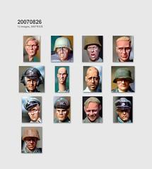 1/35 Heads -2