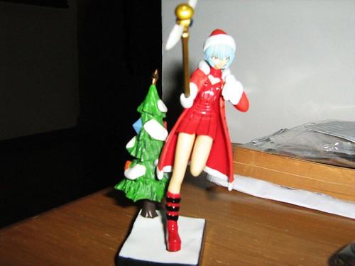 Rei Ayanami in Santa costume