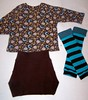 Sweet Baby Soaker and Brown Owls Set - 18-24 mos