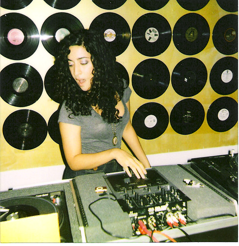 DJ Elhaam Robot Blair at DNCHRD III: VNYL