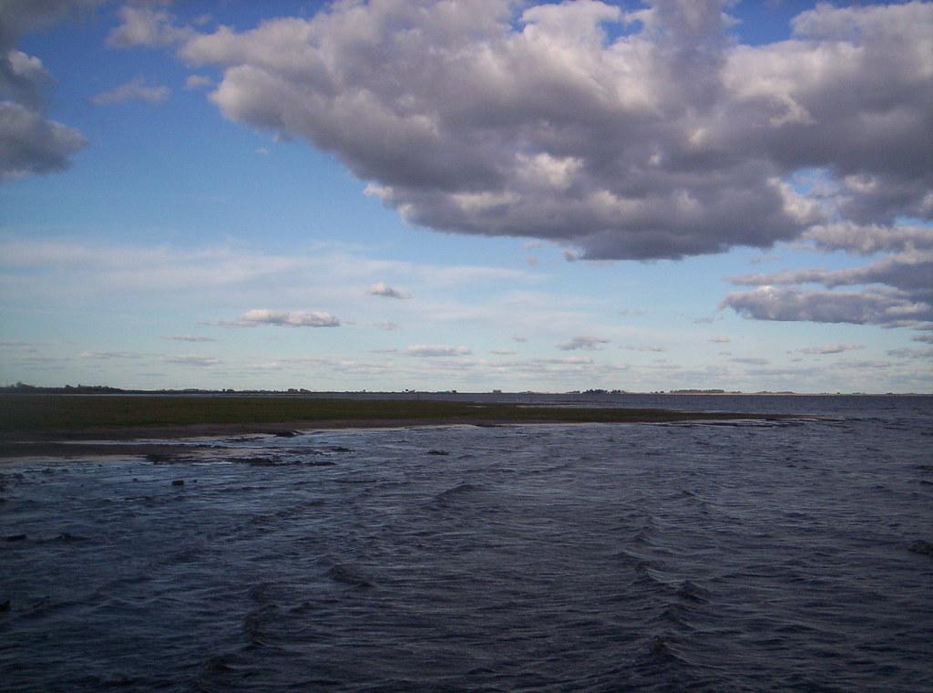 Melincue, un pueblo bajo el agua