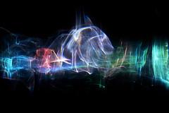 The Mystics (Reciprocity) Tags: blue light red green art film glass colors analog colours patterns refraction analogue lensless caustics mystic diffraction abstact lightart shadowgraph mystics experimentalphotography reciprocity refractograph ls101 bs321 s9721a