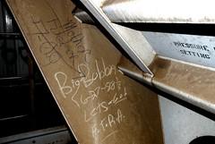 Big Bubba, 1988 (EyeOhWah_Joe) Tags: road railroad train graffiti big streak tag rail bubba hobo freight moniker ftra
