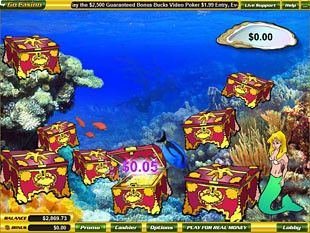 free Mermaid's Quest slot bonus game