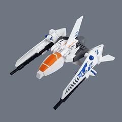 Gacchiri VV Fighter (Fredoichi) Tags: fighter lego space micro shooter shootemup starfighter gradius shmup microscale vicviper fredoichi