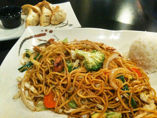 Chicken Yakisoba at KC Teriyaki
