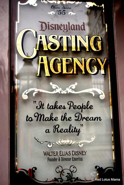 Disneyland Casting Agency