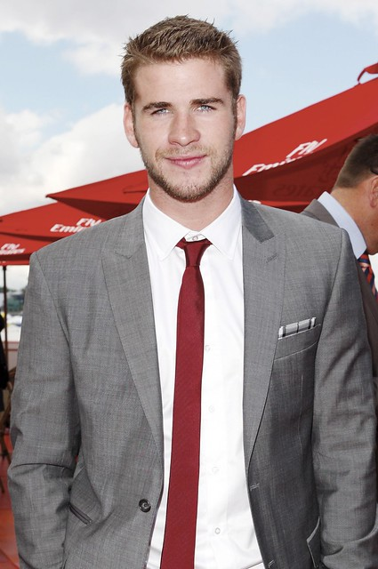 #5989124 Liam Hemsworth attends the 150th Melbourne Cup on November 02, 2010 in Melbourne, Australia....Restriction applies: USA ONLY.. Fame Pictures, Inc - Santa Monica, CA, USA - +1 (310) 395-0500