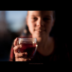 cup of tea? (stella-mia) Tags: light sunset cup girl norway 50mm evening soft dof tea eveningsun bokeh explore cupoftea eveninglight explored canon5dmkii girlwithcupoftea