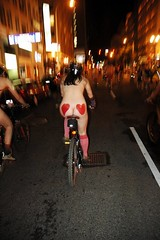 Wold Naked Bike Ride, Portland, Oregon: photo by Jonathan Maus