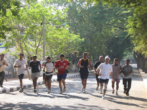 ChennaiRunners in action @ Anna University